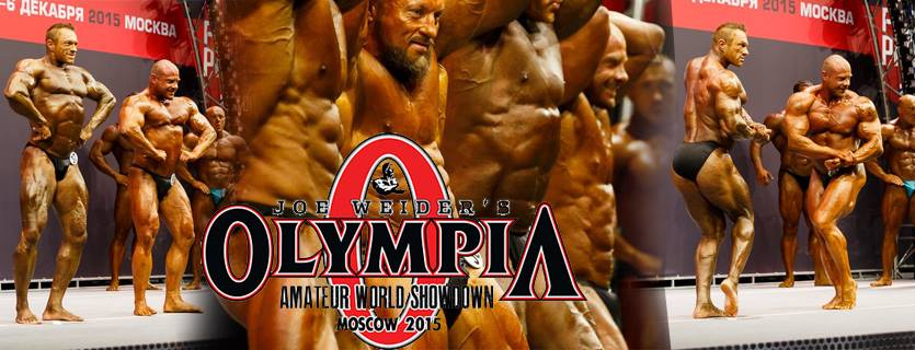 Amateur World Showdown Olympia - Moskva - december 2015